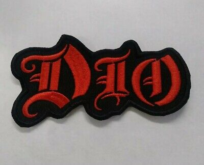 DIO Patch Iron/sew on Embroidered Metal Patch Black Sabbath Iron Maiden