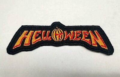 Helloween Patch Embroidered Iron/Sew-on USA Seller Metal