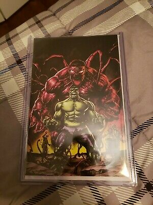 Absolute Carnage Immortal Hulk #1 Mico Suayan virgin Variant Limit To 500 Copies