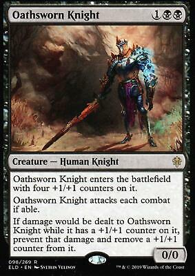 4x Oathsworn Knight | NM/M | Throne of Eldraine | Magic MTG