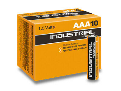 [Ref:080546] DURACELL Pack de 10 piles INDUSTRIAL MN2400/LR03 Micro AAA 1,5V