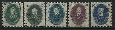 Germany DDR 5 various values to 50 pf used