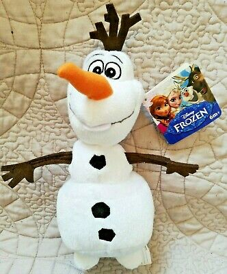"""Olaf Frozen 6"""" Plush New With Tags Disney Productions"""