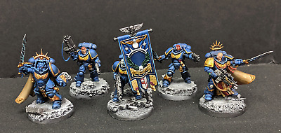 Warhammer 40k Primaris Space Marines Pro Painted 6X CHARACTER LOT - PM6