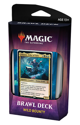 Throne of Eldraine Brawl Deck WILD BOUNTY MAGIC MTG IN HAND