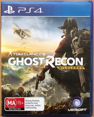 Tom Clancy's Ghost Recon Wildlands for PS4 in Box with Manual PlayStation 4