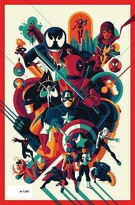 NYCC 2019 Exclusive MARVEL COMICS #1001 Mondo Variant - Tom Whalen In Hand