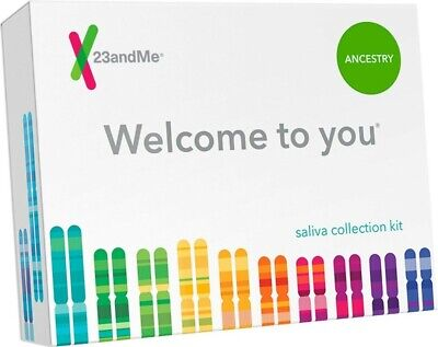"""New Sealed - 23andMe """"Welcome to You"""" DNA Saliva Test Collection Kit - Ancestry"""