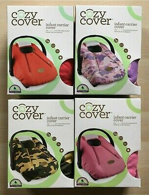 Cozy Cover Infant Carrier Cover, Secure Baby Car Seat Cover - BRAND NEW