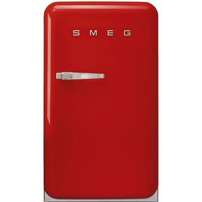 Smeg FAB10HRR Refrigerator Single Door Right Years 50 Class a +130 Liters Red