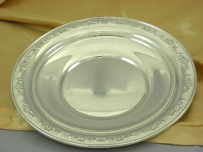 GORHAM STERLING SILVER PLATE / CHARGER #1123 CIRCA 1980, 265 gr. Best Deal