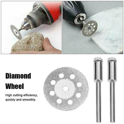 10PCS Diamond Cutting Wheel Saw Blades Cut Off Discs Set for Rotary Tools F W2T2