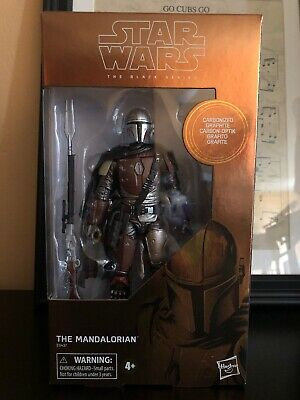 Star Wars The Black Series 6 Inch Carbonized The Mandalorian 2019 Figure IN HAND