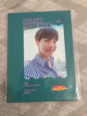 Official J-Hope Guide Book from BTS Summer Package in Saipan 2018