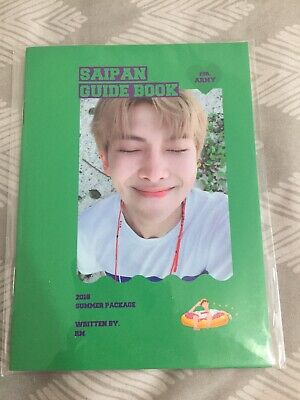 Official RM Namjoon Guide Book from BTS Summer Package in Saipan 2018