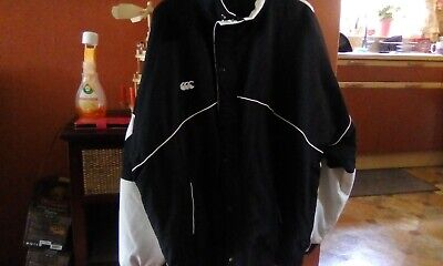 Rare Canterbury 1991 IRB Rugby World Cup Zip Up Buttoned Embroidered Jacket 2XL