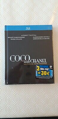 Rare Blu Ray COCO AVANT CHANEL Digibook collector 35 pages neuf sous blister