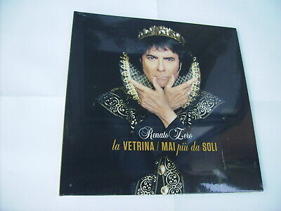 "Renato Zero - La Vetrina - 7"" Vinyl New Sealed 2019"