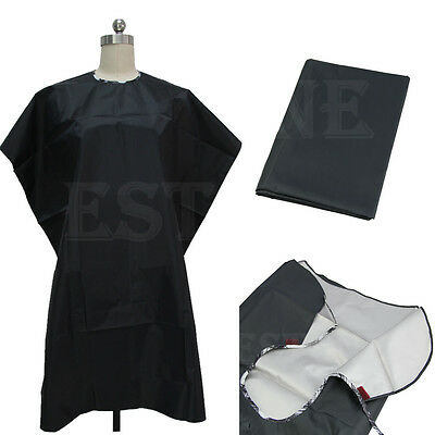 Adult Waterproof Salon Hair Cut Hairdressing Barbers Hairdresser Cape Gown Cloth