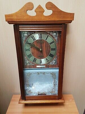 Vintage President 31 Day Wind Up Chime Wall Clock