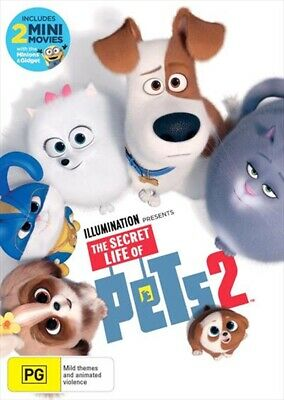 The Secret Life Of PETS 2 : NEW DVD