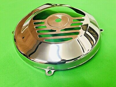 Vespa 50N Stainless Steel Flywheel Cover