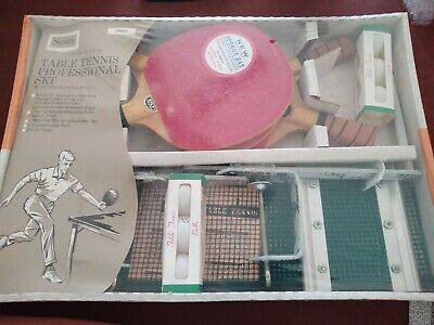 Vintage Sears Professional Table Tennis Set New Old Stock