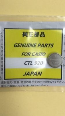 Panasonic Rechargeable CTL920 CTL920F CTL-920 Casio Watch Battery G-Shock Solar