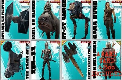 THE MANDALORIAN ILLUSTRATED OUTLAWS SET Topps STAR WARS DIGITAL CARD CHAPTER