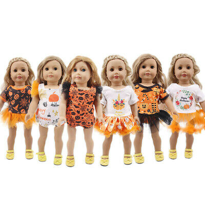 """Hot Handmade Accessories Fits18"""" Inch American Girl Doll Halloween Theme Clothes"""