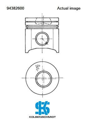 For Iveco Fiat Renault Piston Daily Ii Platform Chassis 8140 47R Kolbenschmidt