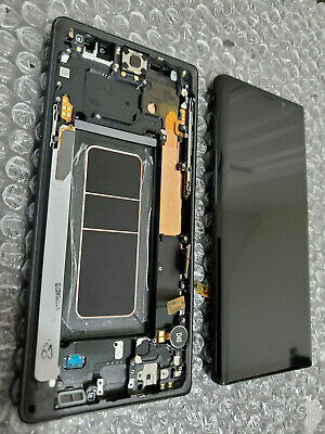 Mint Samsung Galaxy Note 9 Note9 N960 LCD Digitizer Screen Frame - Black