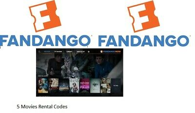 Fandango Now Codes To Rent 5 Movies Valued At $30.00