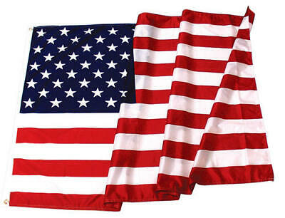 3'x5' US Flag, Outdoor Quality Poly Cotton,  American Flag Made In USA