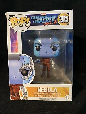 Funko POP! Marvel Guardians of the Galaxy Vol 2 Nebula #203 Box Damage