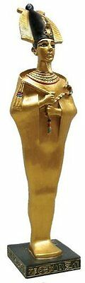 "8.75"" Ancient Egyptian Osiris Figurine Statue Sculpture Egypt God Dead After LIf"