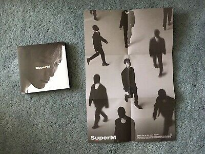 SuperM The 1st Mini Album 'SuperM' TEN Version with Poster No Photocard
