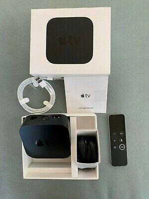 Apple TV 4K – 64GB (Latest Model) - Black (Brand New)