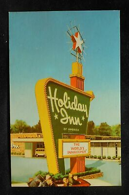 1960s Holiday Inn Hwy. 17 & I-95 Restaurant Lounge Kennels Sign Richmond Hill GA