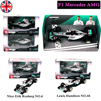 Formula One F1 Car Model Mercedes AMG LEWIS HAMILTON Collection Toy Gifts UK