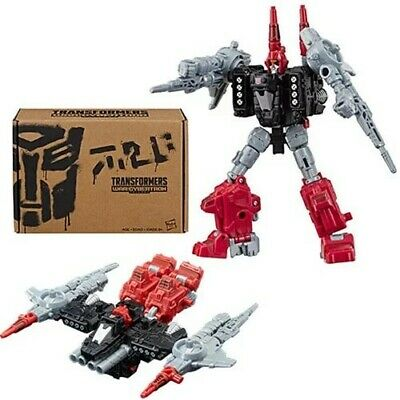 Transformers Generations Selects Deluxe Powerdasher Jet Cromar w/Pin Sealed
