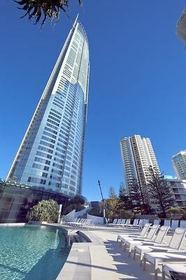 GOLD COAST ACCOMMODATION NEW Q1 Resort 2 Bed + Study Seeps 6  $1425  7 nights