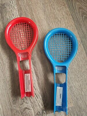 2 x Wii Remote Tennis Rackets for Nintendo Wii
