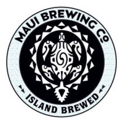Maui Brewing Company Sticker decal craft Brewery Micro Lahaina Hawaii HI