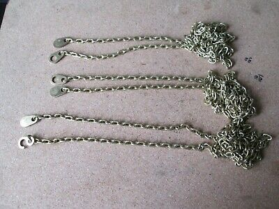 Three Hermle Clock Chains They Fit 241 Movements And All Other Hermle Movements