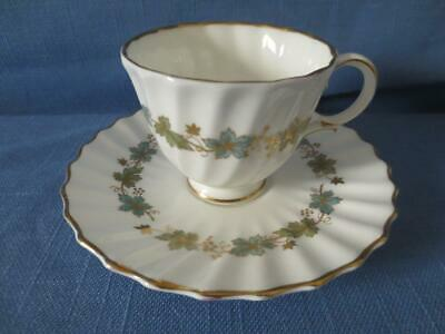 Royal Doulton England Footed Demitasse Piedmont Cup and Saucer #H4967
