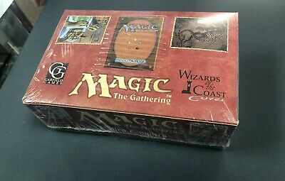 Mtg Magic The Gathering *Fallen Empires** Sealed Box