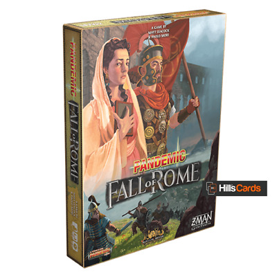 Pandemic: Fall of Rome Board Game By Z-Man Games | Stand-Alone Game | ZMG7124