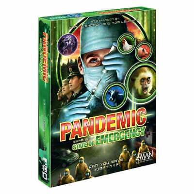 Pandemic State of Emergency Board Game Expansion By Z-Man Games ZMG77113