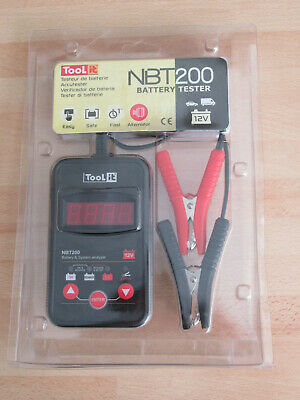TooLit NBT 200 multi-function battery tester, Accutester 12V
